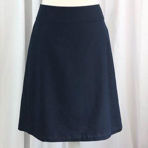 Banana Republic Navy Blue Skirt